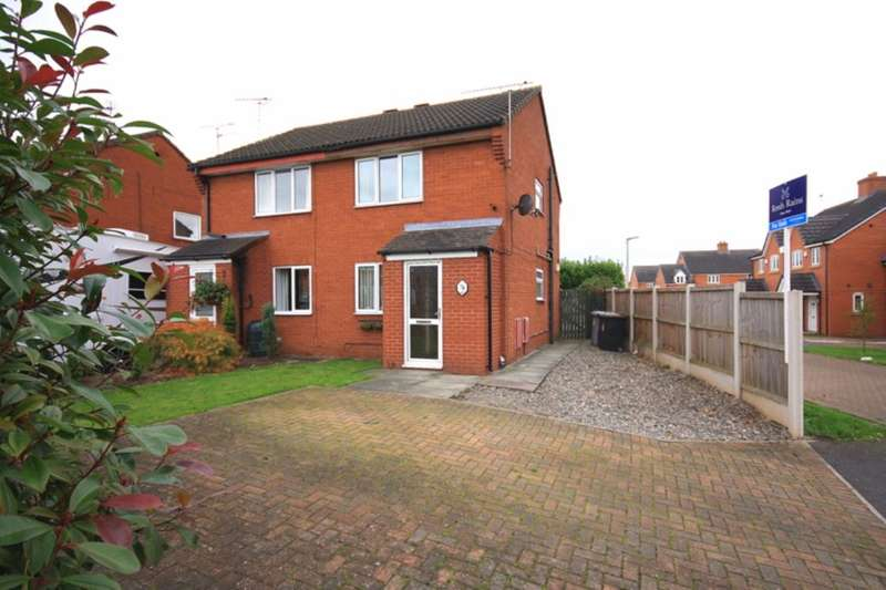 2 Bedrooms Semi Detached House for sale in The Beeches, Nantwich, CW5