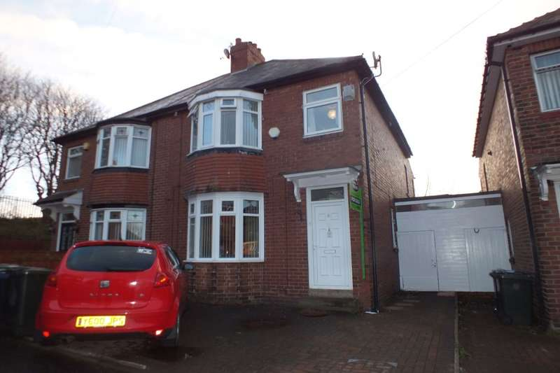 3 Bedrooms Semi Detached House for sale in Hauxley Gardens, Newcastle Upon Tyne, NE5
