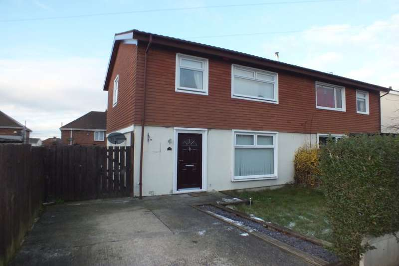 3 Bedrooms Semi Detached House for sale in Harnham Gardens, Newcastle Upon Tyne, NE5