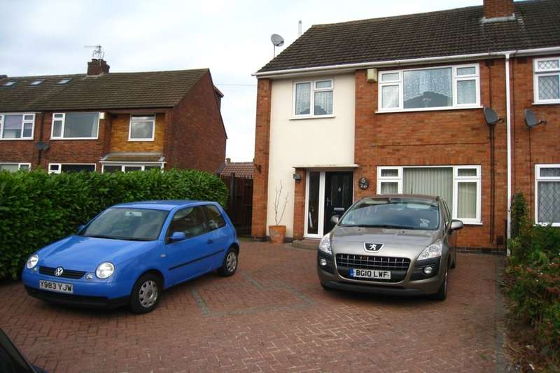 4 Bedrooms Semi Detached House for sale in Ashbridge Road, Allesley Park, Coventry, CV5