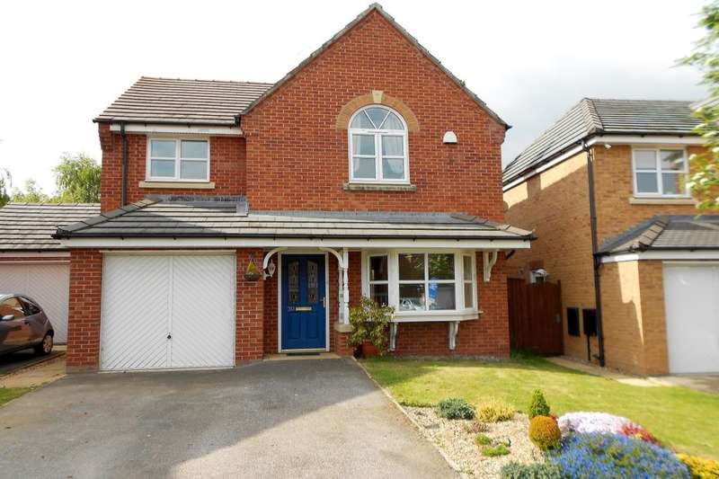 4 Bedrooms Detached House for sale in St. Giles Park, Gwersyllt, Wrexham, LL11