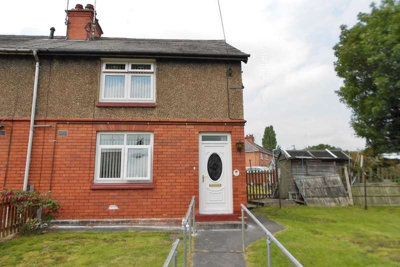 2 Bedrooms Terraced House for sale in Heol Eifion, Rhosllanerchrugog, Wrexham, LL14