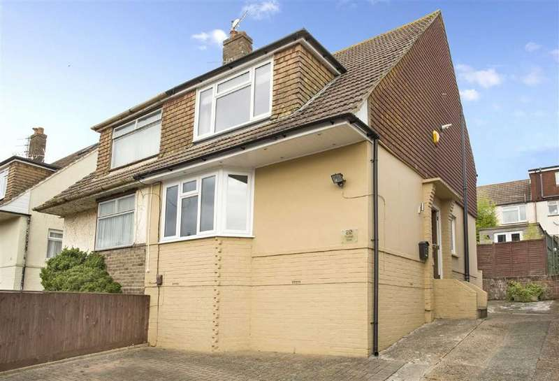 2 Bedrooms Semi Detached House for sale in Truleigh Drive, Portslade