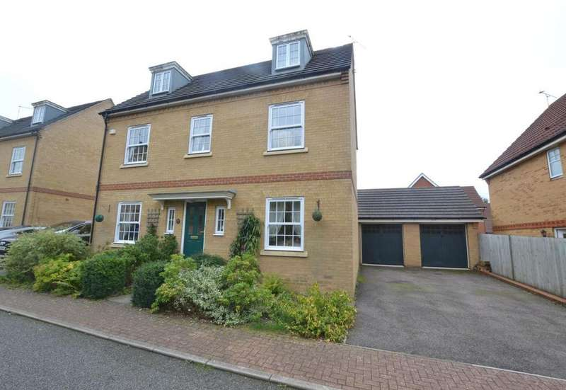 5 Bedrooms Detached House for sale in Spencer Close, Billericay, Essex, CM12