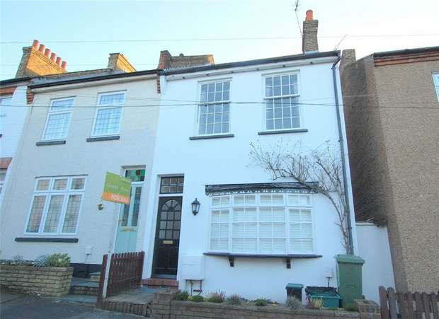 3 Bedrooms End Of Terrace House for sale in Lewes Road, BROMLEY, Kent