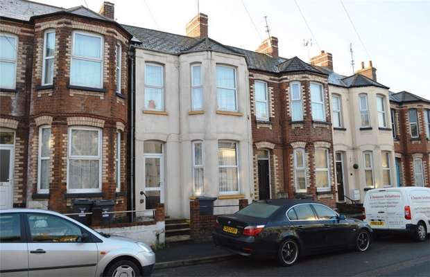 3 Bedrooms Terraced House for sale in 8 Withycombe Road, EXMOUTH, Devon