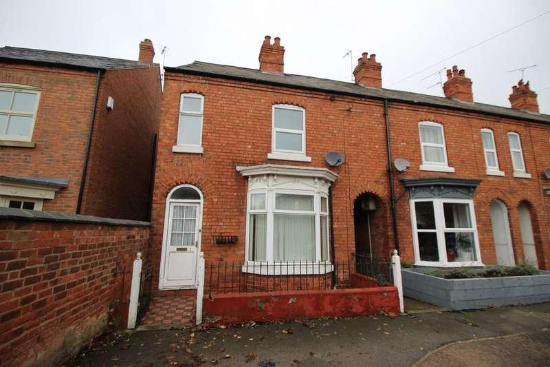 3 Bedrooms Semi Detached House for rent in Osberton Road, Retford, DN22