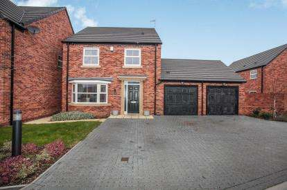 4 Bedrooms Detached House for sale in Jaguar Close, Radford, Coventry, West Midlands