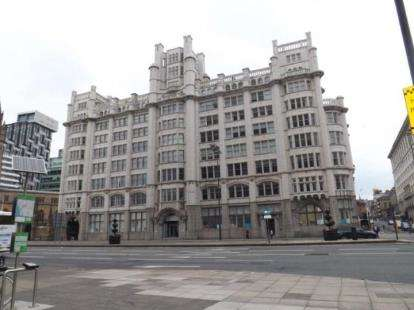 2 Bedrooms Flat for sale in Tower Building, Water Street, Liverpool, L3
