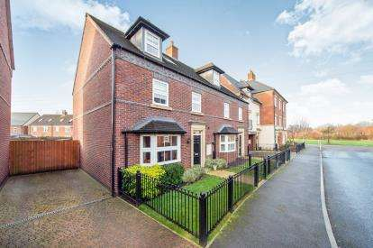 4 Bedrooms Semi Detached House for sale in Partington Square, Sandymoor, Runcorn, Cheshire, WA7