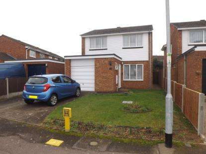3 Bedrooms Detached House for sale in Beech Avenue, Biggleswade, Bedfordshire