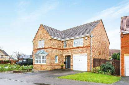 4 Bedrooms Detached House for sale in Chapel Drive, Arlesey, Bedfordshire, England