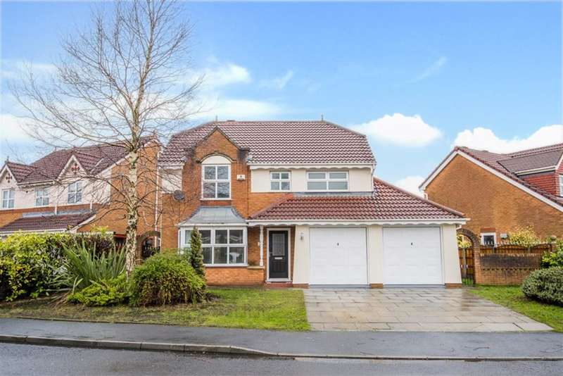 4 Bedrooms Detached House for sale in Reedley Drive, Worsley, Manchester, M28 7XR