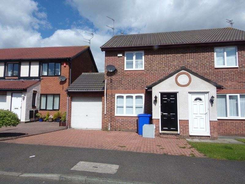 2 Bedrooms Property for sale in Inglewood Close, Chase Farm, Blyth, Northumberland, NE24 4LT