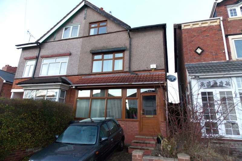 4 Bedrooms Semi Detached House for sale in Manor Road, Stechford, Birmingham, B33