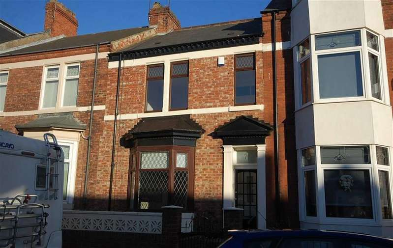 4 Bedrooms Terraced House for sale in Mortimer Road, South Shields