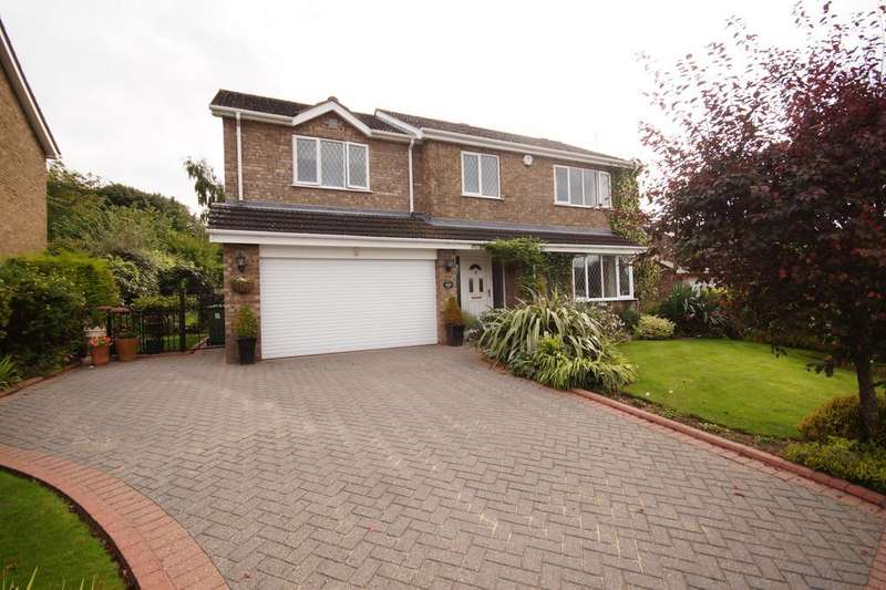 4 Bedrooms Detached House for sale in Dalderby Crescent, Nettleham