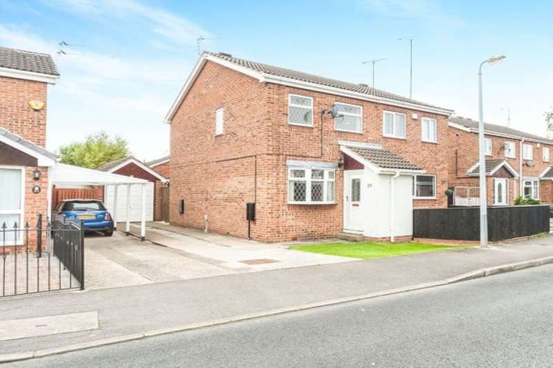 2 Bedrooms Semi Detached House for sale in Langsett Road, Hull, HU8