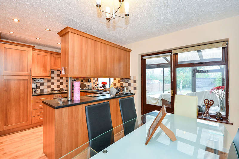 3 Bedrooms Semi Detached House for sale in Bridge End Avenue, Selston, Nottingham, NG16