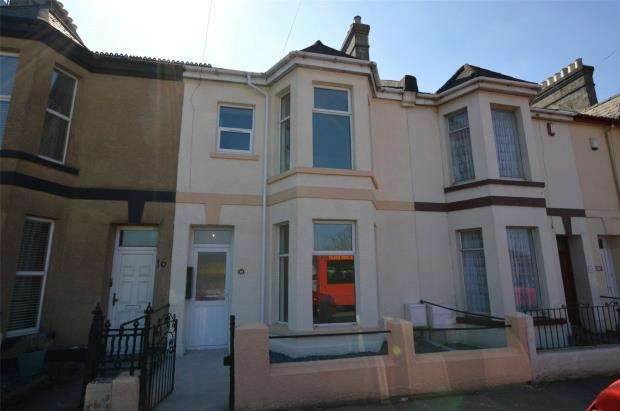 1 Bedroom Terraced House for sale in Pomphlett Road, Plymouth, Devon