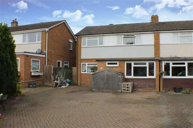 3 Bedrooms Semi Detached House for sale in Gibbons Close, St Albans, Hertfordshire