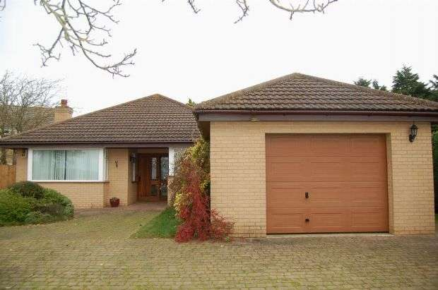 2 Bedrooms Detached Bungalow for rent in Glebe Road, Mears Ashby, Northampton NN6 0DP
