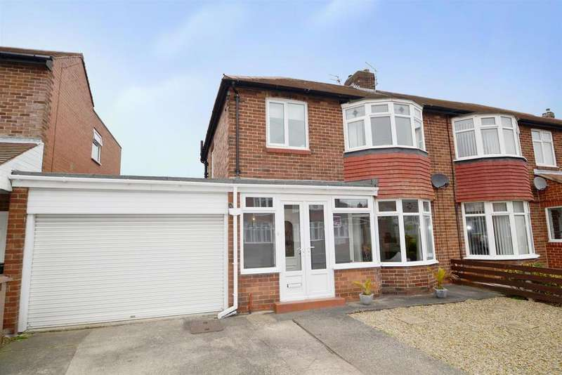 3 Bedrooms Semi Detached House for sale in Athol Gardens, West Monkseaton