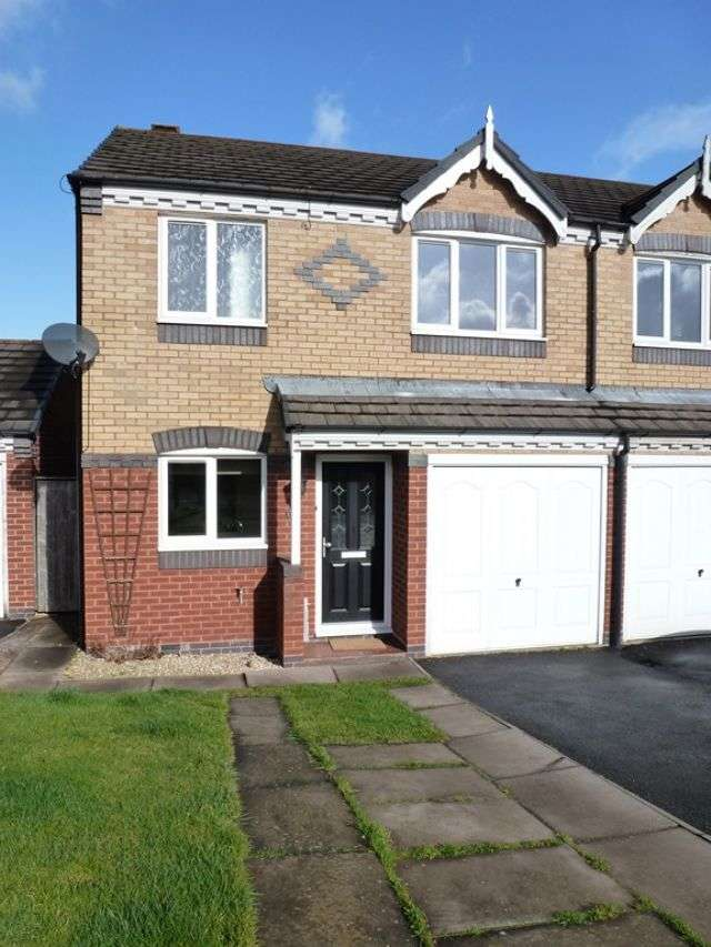 3 Bedrooms Semi Detached House for rent in AN IMMACULATE THREE BEDROOM SEMI-DETACHED HOUSE, WARNDON VILLAGES, WORCESTER