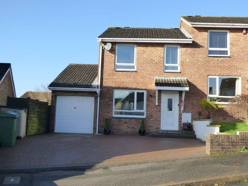 3 Bedrooms Semi Detached House for sale in Griggs Close, Plympton