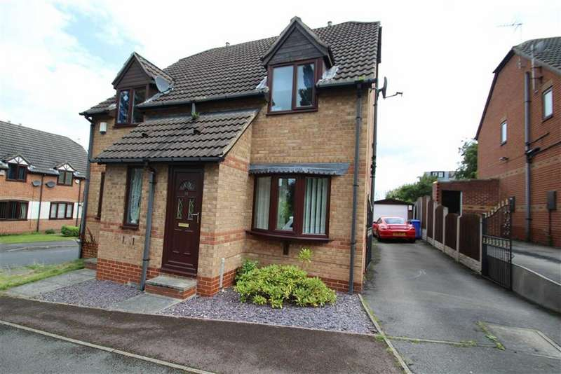 2 Bedrooms Semi Detached House for sale in Brockwood Close, Workhouse, Sheffield
