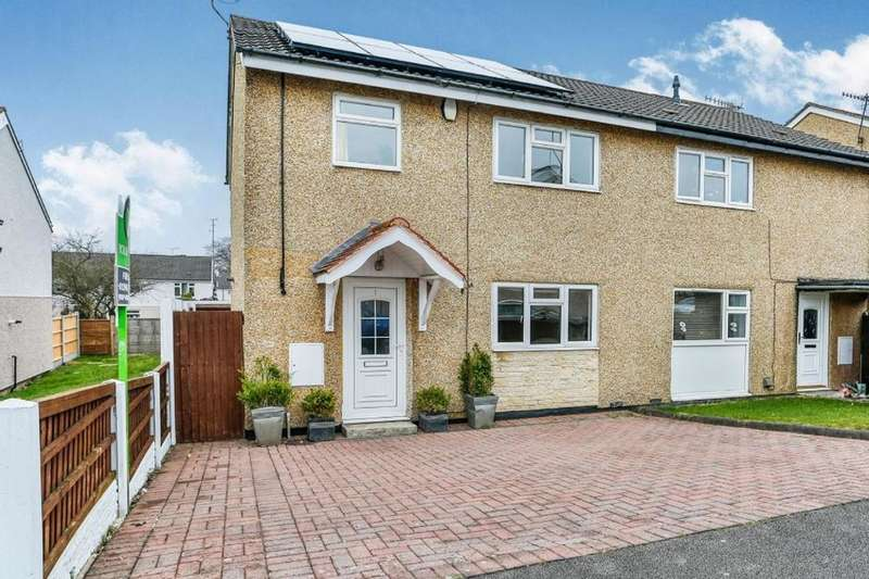 3 Bedrooms Semi Detached House for rent in Rockley Close, Chesterfield, S40