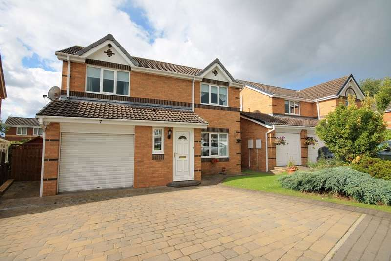 4 Bedrooms Detached House for sale in Nenthead Close, Great Lumley, Chester Le Street, DH3