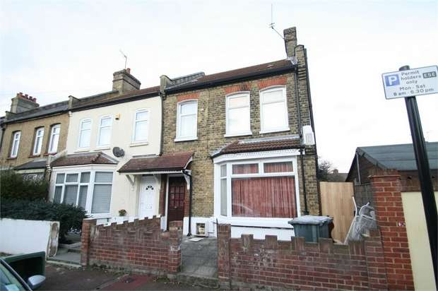 3 Bedrooms End Of Terrace House for sale in Langton Avenue, East Ham, London