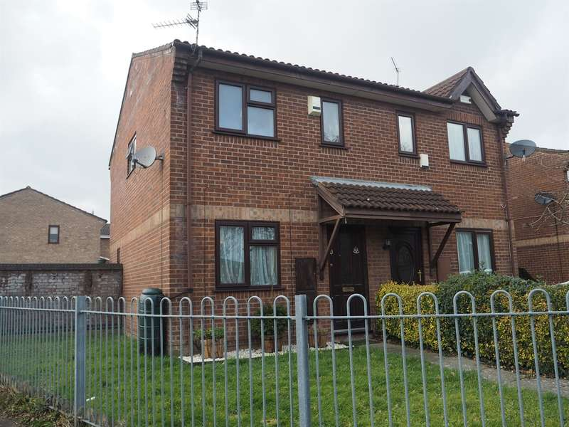 2 Bedrooms Semi Detached House for sale in Ashdown Close, St. Mellons, Cardiff