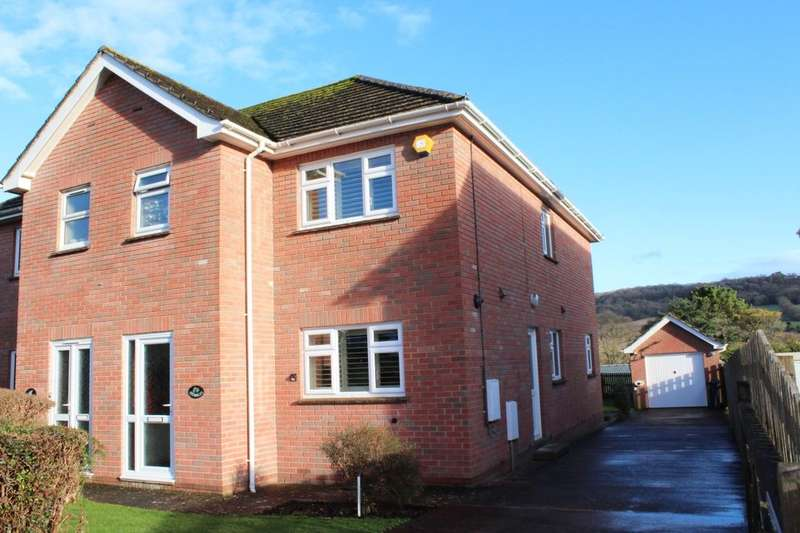 3 Bedrooms Semi Detached House for sale in Malvern Road, Sidmouth, EX10
