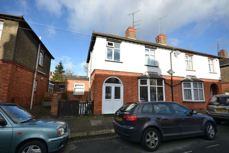 3 Bedrooms Semi Detached House for sale in Elgin Street, St James, Northampton, NN5