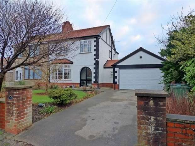 4 Bedrooms Semi Detached House for sale in Meadows Avenue, Thornton-Cleveleys, Lancashire