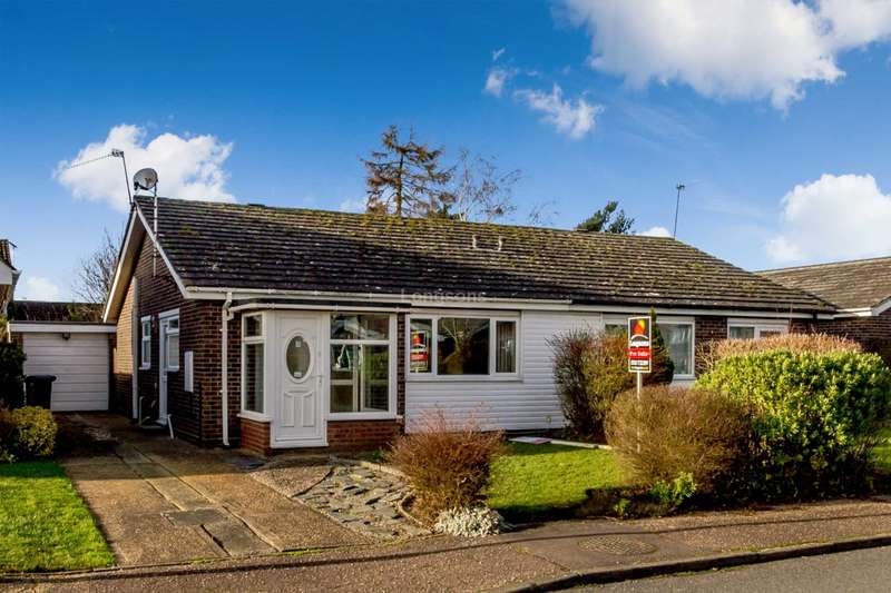 2 Bedrooms Semi Detached Bungalow for sale in Surlingham Drive, Swaffham