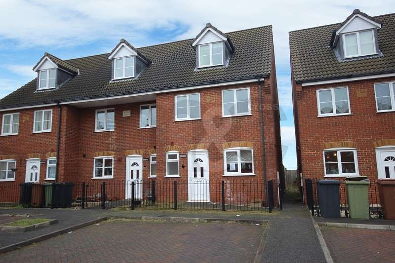 4 Bedrooms End Of Terrace House for rent in Talbot Road, Wellingborough, Northamptonshire. NN8 1QH