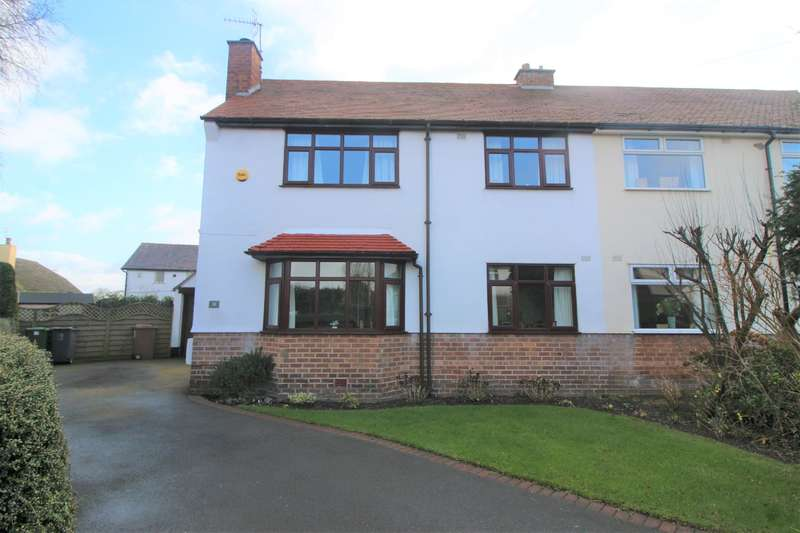 3 Bedrooms Semi Detached House for sale in Overdale Avenue, Barnston, Wirral, CH61 1DB