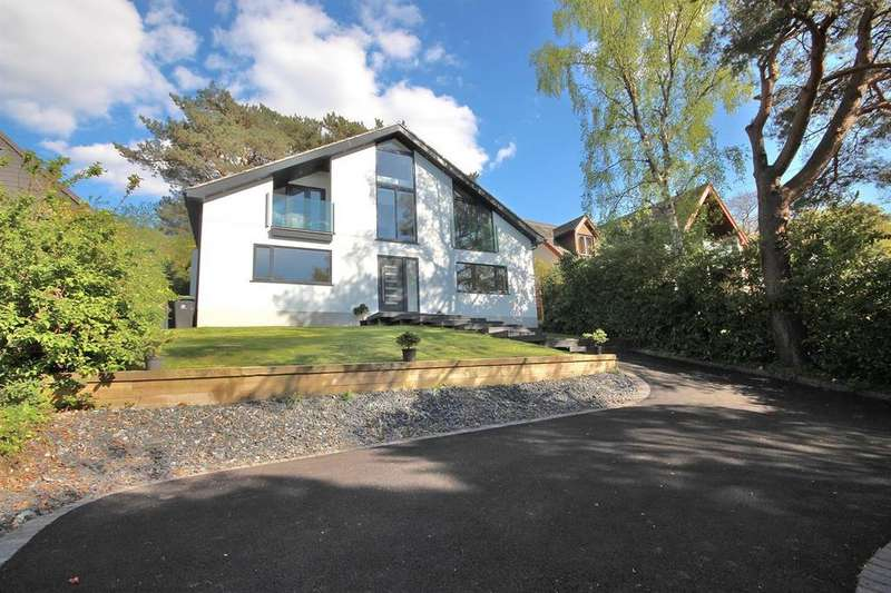 4 Bedrooms Detached House for sale in Hillside Road, Corfe Mullen, Wimborne