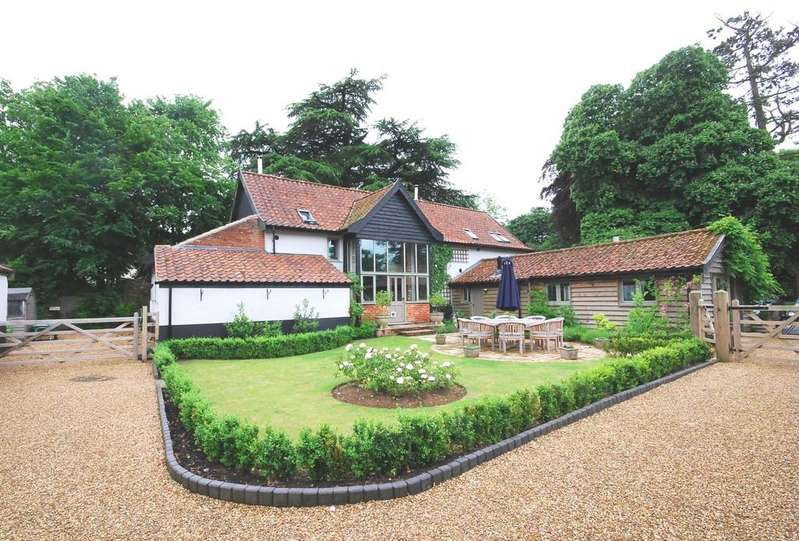 5 Bedrooms Barn Conversion Character Property for sale in Whinburgh Road, Yaxham