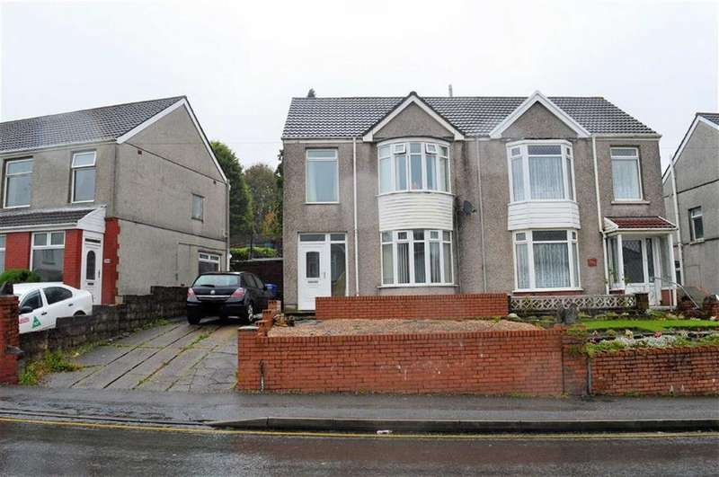 3 Bedrooms Semi Detached House for sale in Pentregethin Road, Swansea, SA5