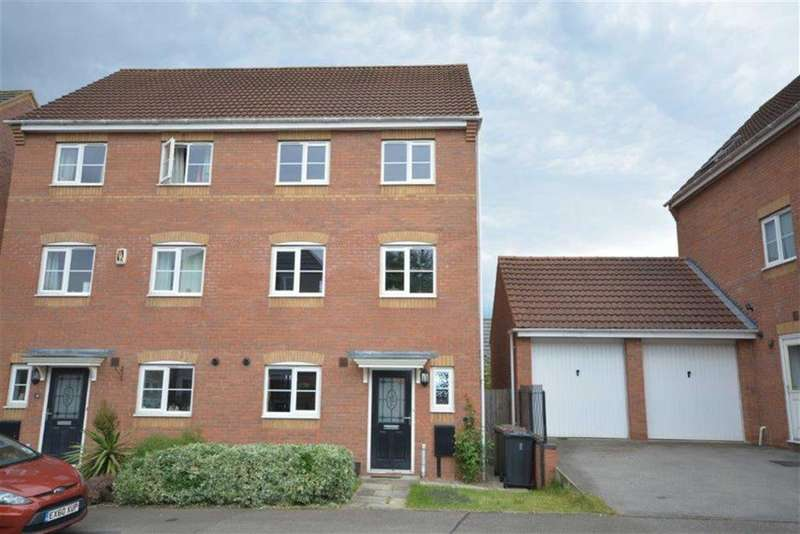 4 Bedrooms Semi Detached House for sale in Passion Flower Close, Bedworth
