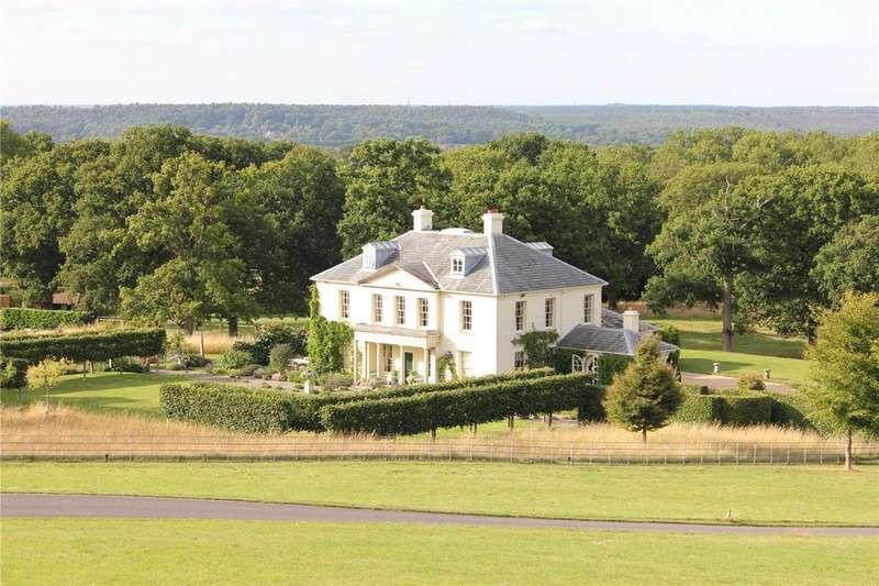 8 Bedrooms Detached House for sale in Hogs Back, Wanborough, Surrey, GU10