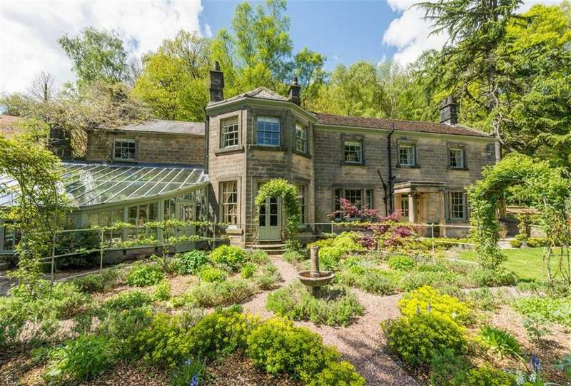 5 Bedrooms Detached House for sale in Lumsdale House, Upper Lumsdale, Matlock, Derbyshire, DE4