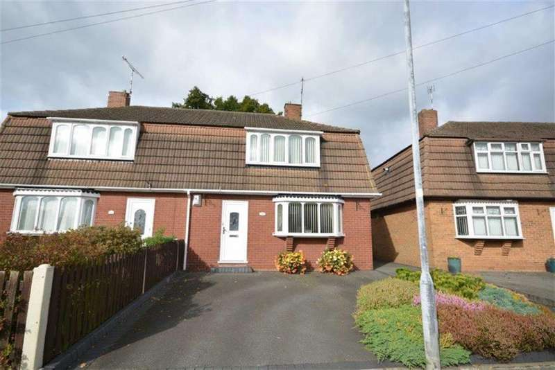 3 Bedrooms Semi Detached House for sale in Marriott Road, Bedworth
