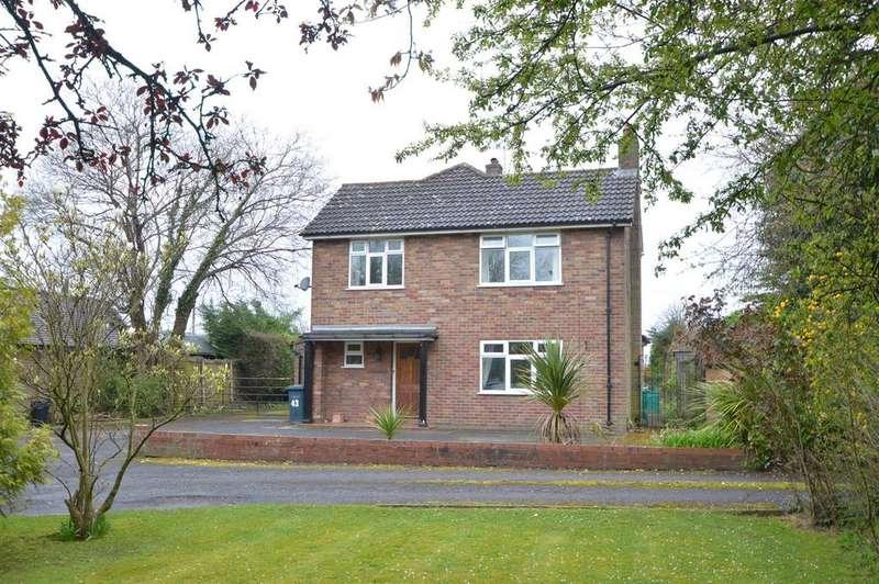 3 Bedrooms Detached House for sale in 43 Battlefield Road, Shrewsbury SY1 4AF