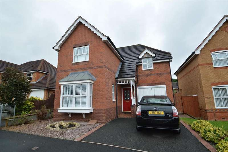 3 Bedrooms Detached House for sale in 16 Ramsey Meadows, Berwick Grange, Shrewsbury SY1 4YL