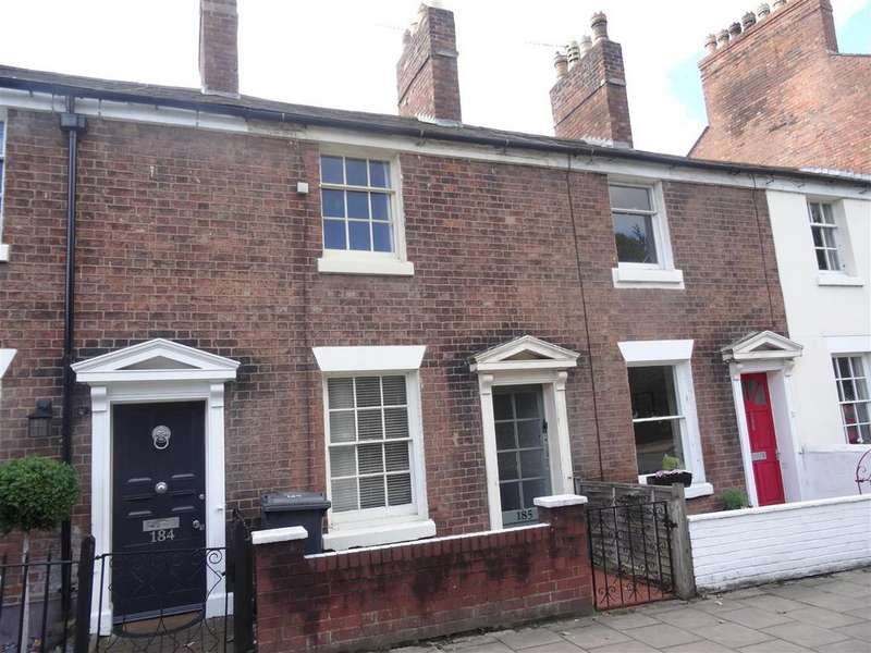 2 Bedrooms Terraced House for sale in Abbey foregate, Shrewsbury